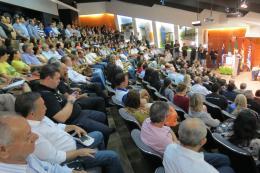 Auditório da Casa da Indústria - Fiems durante o lançamento do Acorda MS