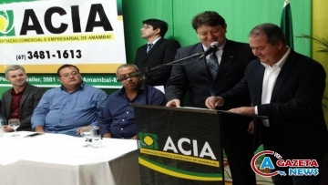 Nova diretoria da ACIA é empossada para o biênio 2017/2018