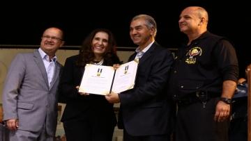 Presidente da Aced recebe do DOF medalha 'Águia da Fronteira'