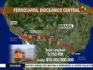 Em reunião na Bolívia, Mercosul dá aval para Corredor Ferroviário