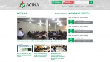 Associação Comercial de Nova Andradina lança site 100% responsivo