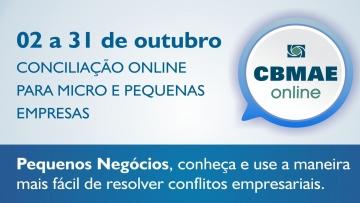 CBMAE promove mutirão de conciliação online em comemoração ao Dia Nacional da MPE