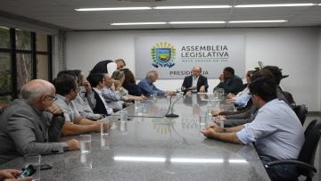 Em reunião com deputados e Semagro, FAEMS pede solução para impasse das obras da BR 163