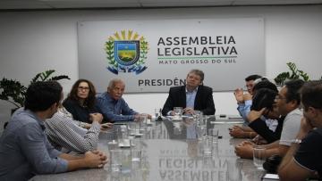 FAEMS entrega Carta Comércio, com reivindicações do setor ao Governo do Estado