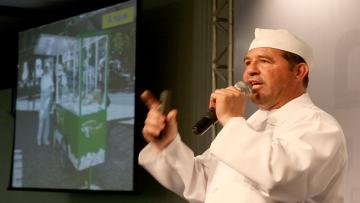 Pipoqueiro mais famoso do Brasil dá palestra em Corumbá