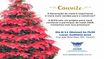 Aced convida empresários para conhecer projeto do Natal 2018