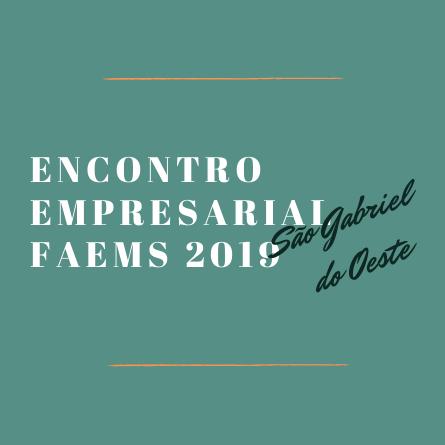 Encontro Empresarial FAEMS 2019