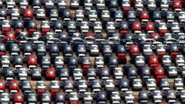 Ociosidade da indústria automotiva está em 52% da capacidade, diz Anfavea