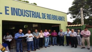 FAEMS prestigia inauguração de nova sede da Associação Comercial de Rio Brilhante
