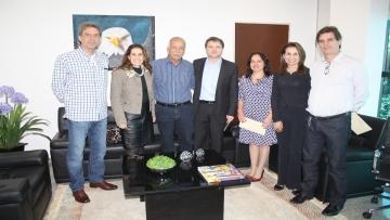 FAEMS recebe visita da nova diretoria da Associação Comercial e Empresarial de Dourados