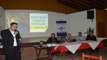 FAEMS empossa novo presidente da Associação Comercial de Bonito