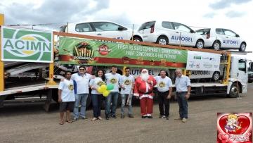 Mundo Novo tem comércio aquecido com campanha Natal Premiado
