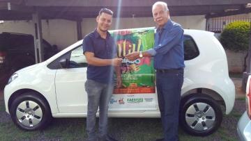 Ganhador de carro da campanha Natal Premiado em Campo Grande é anunciado