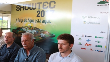 FAEMS participa da abertura do Showtec 2017